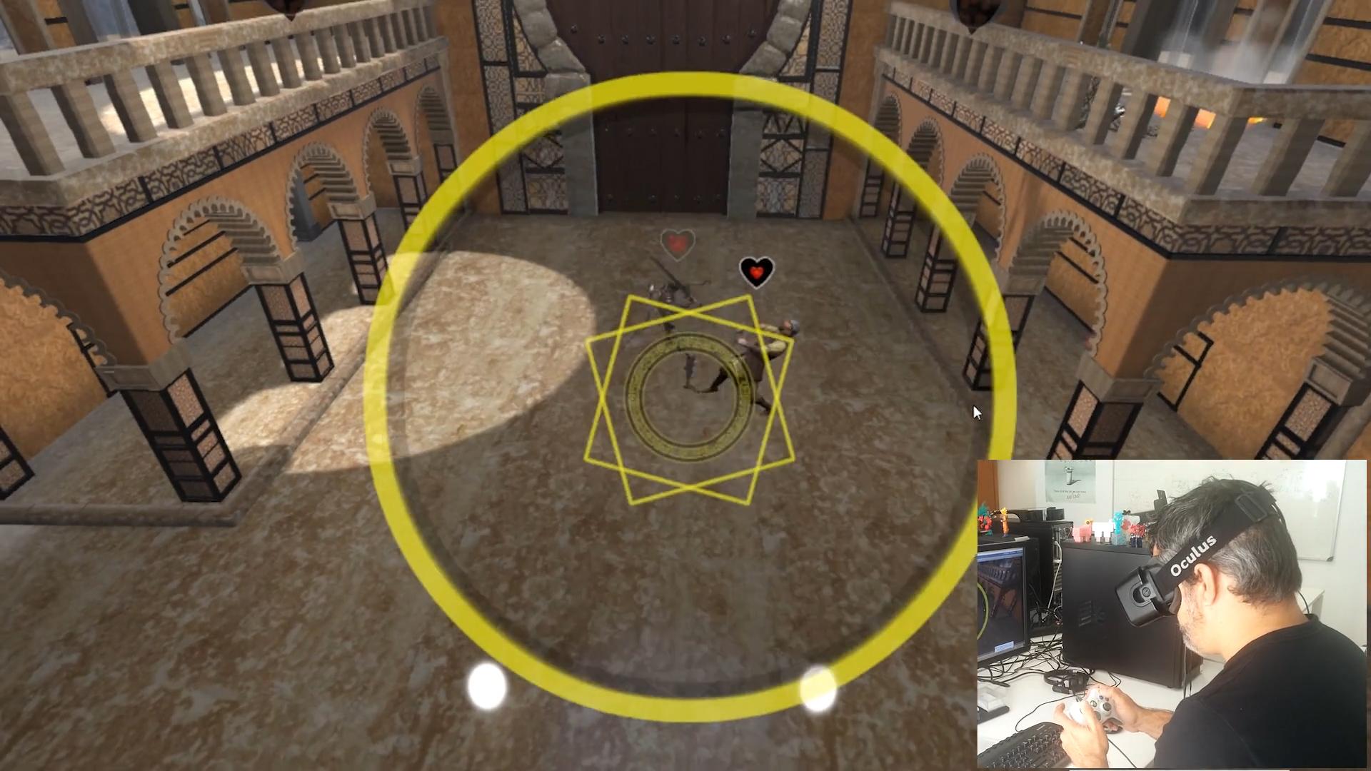Alhambra Quest VR - an Oculus rift development by Greyman Studios