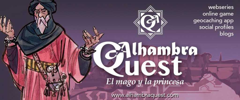 Alhambra Quest,  a transmedia experience